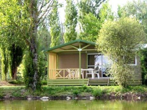 CHALET 5 personnes - Chalet bois avec terrasse