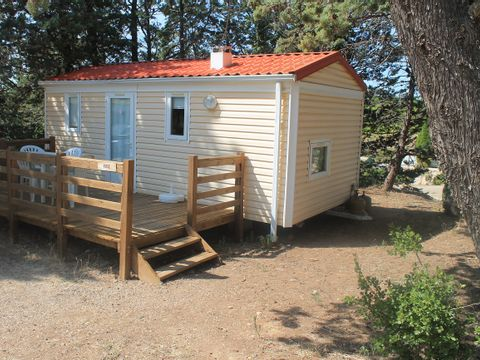 MOBILHOME 4 personnes - Rose