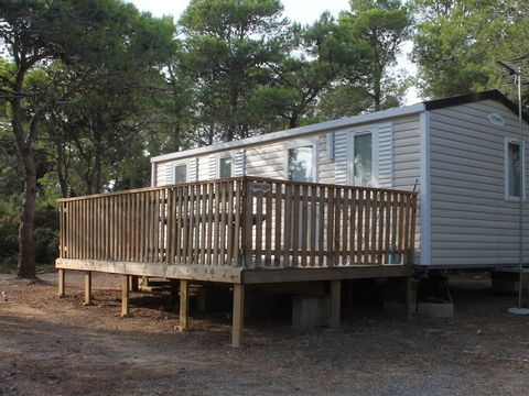 MOBILHOME 8 personnes - COQUELICOT OU JONQUILLE