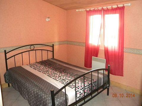 GÎTE 7 personnes - 2 chambres + TV, avec entrée indépendante du camping et parking privatif