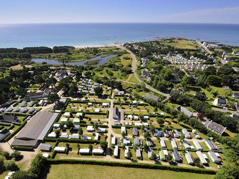 Camping PenHoat Côté Plage - Camping Finistere - Image N°2