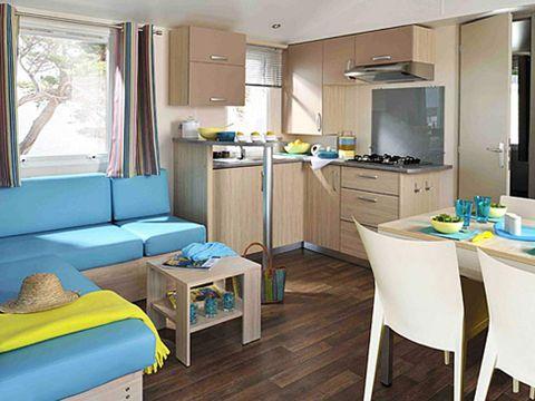 MOBILHOME 6 personnes - CONFORT, Cottage Plus
