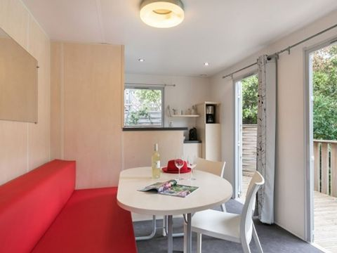 MOBILHOME 6 personnes - VIP : Luxe 2ch - Clim - TV - Kit Hotelier