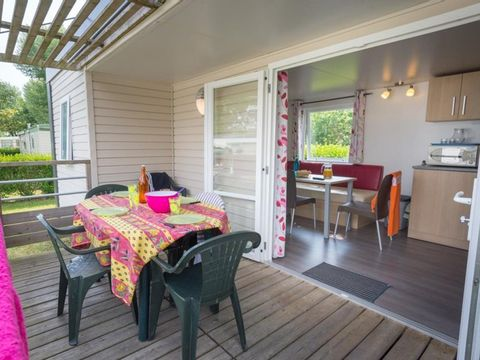 MOBILHOME 4 personnes - ALIZE