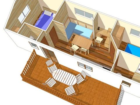 MOBILHOME 6 personnes - VILLA 2 Chambres