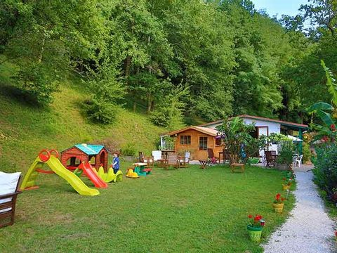 Camping les Chalets de Pierretoun - Camping Pyrenees-Atlantiques - Image N°5