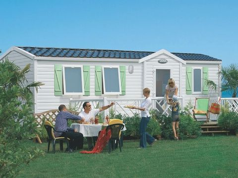 MOBILHOME 6 personnes - Loisirs 3 chambres