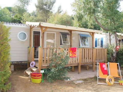 MOBILHOME 6 personnes - CAP TAILLAT