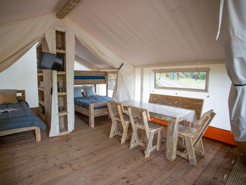 TENTE 5 personnes - LODGE WOODY 25