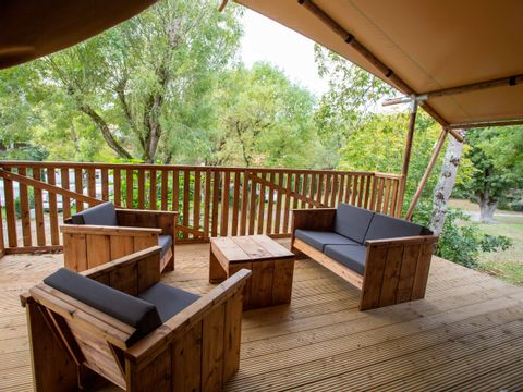 TENTE 6 personnes - LODGE WOODY 38