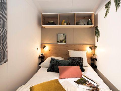 MOBILHOME 4 personnes - Confort 3 pièces + TV