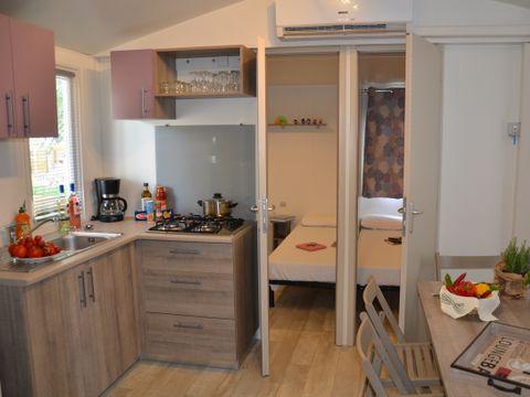 MOBILHOME 7 personnes - 3 Chambres, Happy Premium