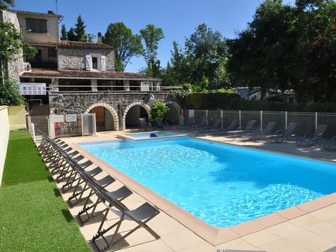 Camping les Rives d'Auzon - Camping Ardeche