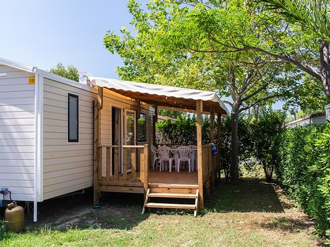 MOBILHOME 6 personnes - 2 Chambres, TV + CLIM