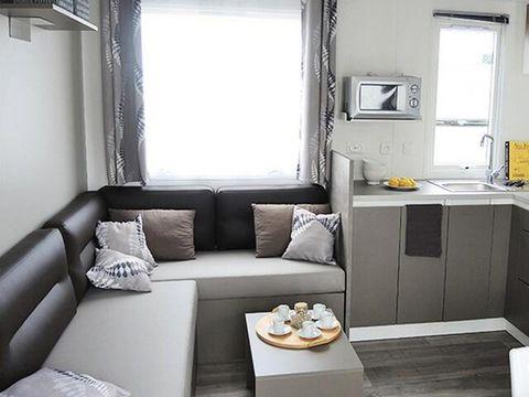 MOBILHOME 8 personnes - Cottage Tamaris Grand Confort 4 Pièces Climatisé + TV pour 6/8 personnes