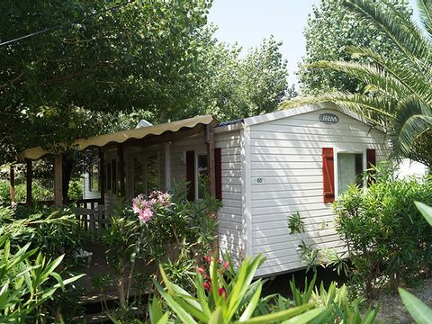 MOBILHOME 6 personnes - Cottage Confort 3 Chambres - arrivée samedi