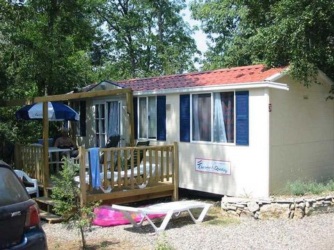 MOBILHOME 4 personnes - CAMP2RELAX, 2 chambres