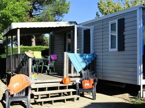 MOBILHOME 6 personnes - Cottage Florès Confort 3 Pièces + TV pour 4/6 personnes