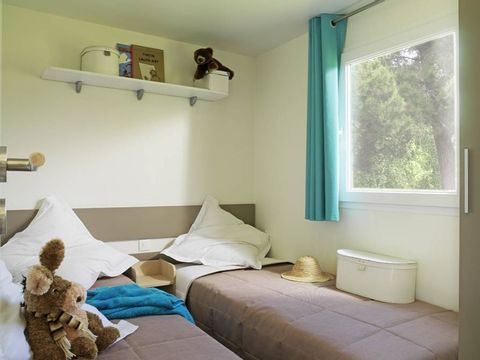 MOBILHOME 6 personnes - LE GRAND CHARME CLIMATISE