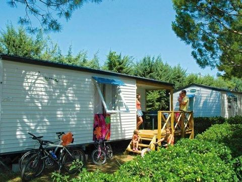MOBILHOME 6 personnes - LE GRAND LARGE NON CLIMATISE