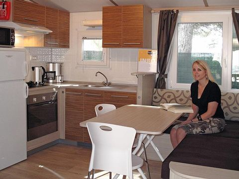 MOBILHOME 5 personnes - Redwood