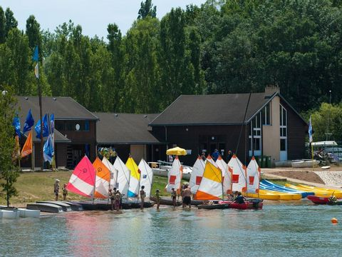 Camping Lac des Varennes - Camping Sarthe - Image N°3