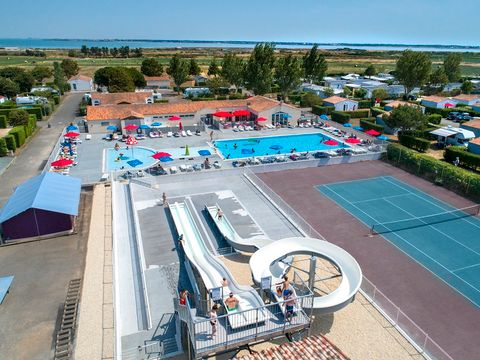 Flower Camping Les Ilates - Camping Charente-Maritime - Image N°8