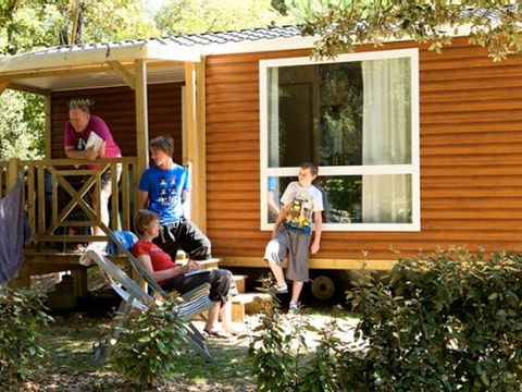 MOBILHOME 6 personnes - Confort - 2 chambres