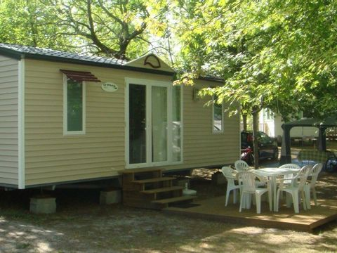 MOBILHOME 6 personnes - Espace 3 chambres