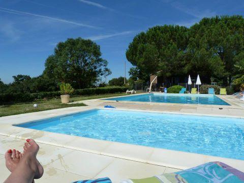 Parc Résidentiel de loisirs Les Chalets des Mousquetaires - Camping Gers