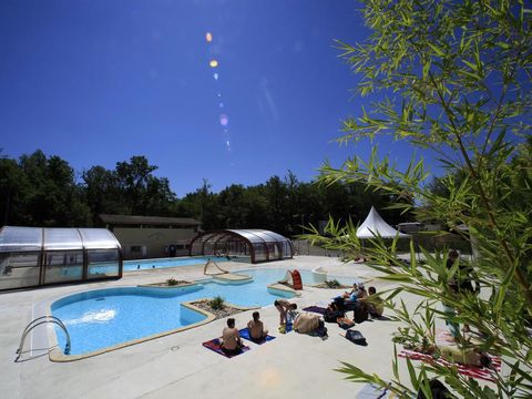 Camping Les Hameaux Des Lacs - Camping Tarn-et-Garonne - Image N°2