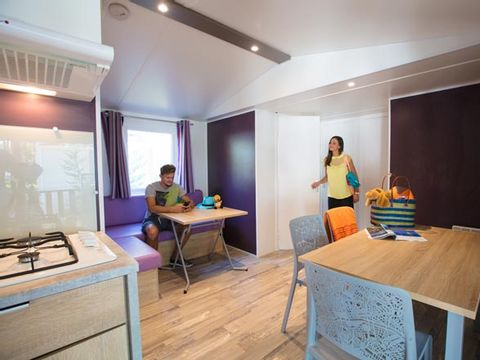 MOBILHOME 8 personnes - Resasol - 3 chambres