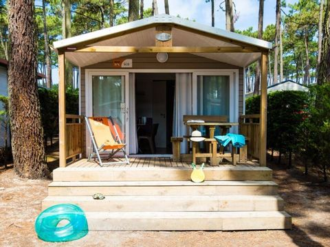 MOBILHOME 5 personnes - Cottage - 2 chambres
