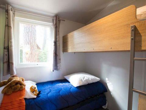 BUNGALOW 4 personnes - Bois - 2 chambres - sans sanitaire