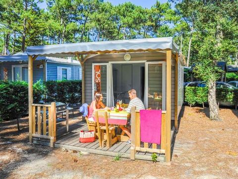 MOBILHOME 4 personnes - 1 chambre 2/4 pers