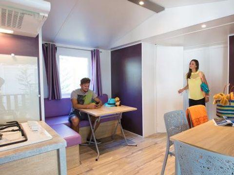 MOBILHOME 8 personnes - Résasol - 3 chambres (animaux admis)