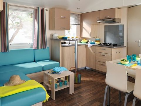 MOBILHOME 6 personnes - FAMILY 2 CHAMBRES