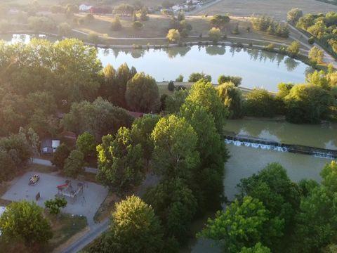 Ile du Pont - Camping Paradis - Camping Gers - Image N°3