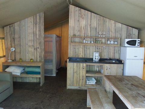 TENTE 6 personnes - Lodges Safari