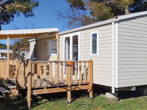 MOBILHOME 6 personnes - COSY climatise 3 chambres (I63C)