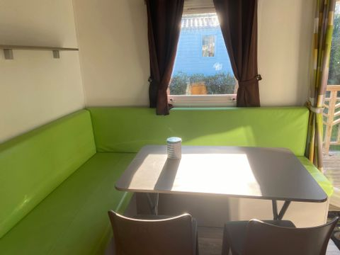 MOBILHOME 4 personnes - Type A, 2 chambres + TV