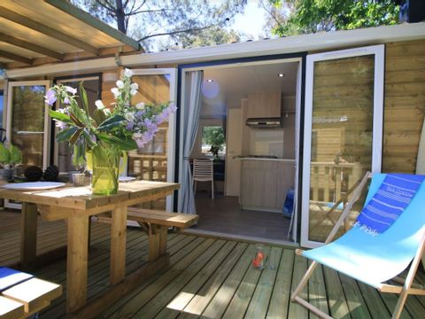 MOBILHOME 4 personnes - Cottage Bois