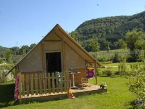 BUNGALOW TOILÉ 4 personnes - Lodge Canadienne , sans sanitaires