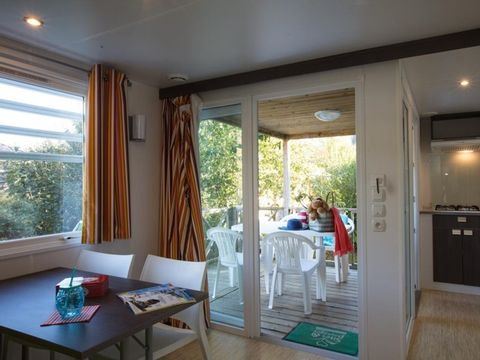 MOBILHOME 6 personnes - Cottage Caborde - 32m²