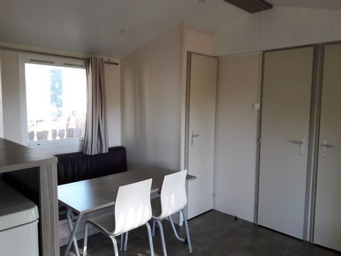 MOBILHOME 6 personnes - 2 chambres + TV + Clim