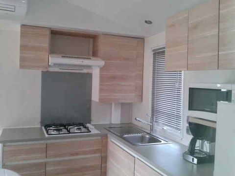 MOBILHOME 6 personnes - 3 chambres + TV + Clim
