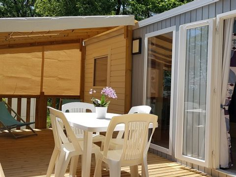 MOBILHOME 4 personnes - Cottage Confort Louisiane Corail - 6 pers
