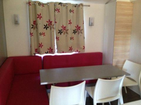 MOBILHOME 6 personnes - Krusoe - 2 chambres (arrivée en dimanche)