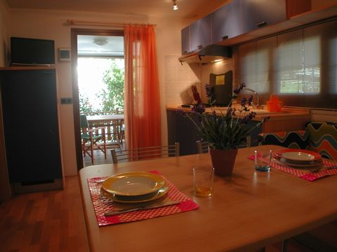 MOBILHOME 5 personnes - COMFORT, 2 chambres
