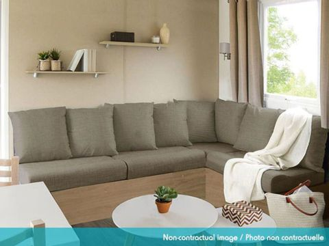 MOBILHOME 6 personnes - Excellence 2 chambres  + Terrasse